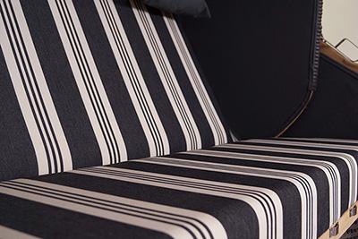 luxus vollieger strandkorb kampen 3 sitzer mocca. Black Bedroom Furniture Sets. Home Design Ideas