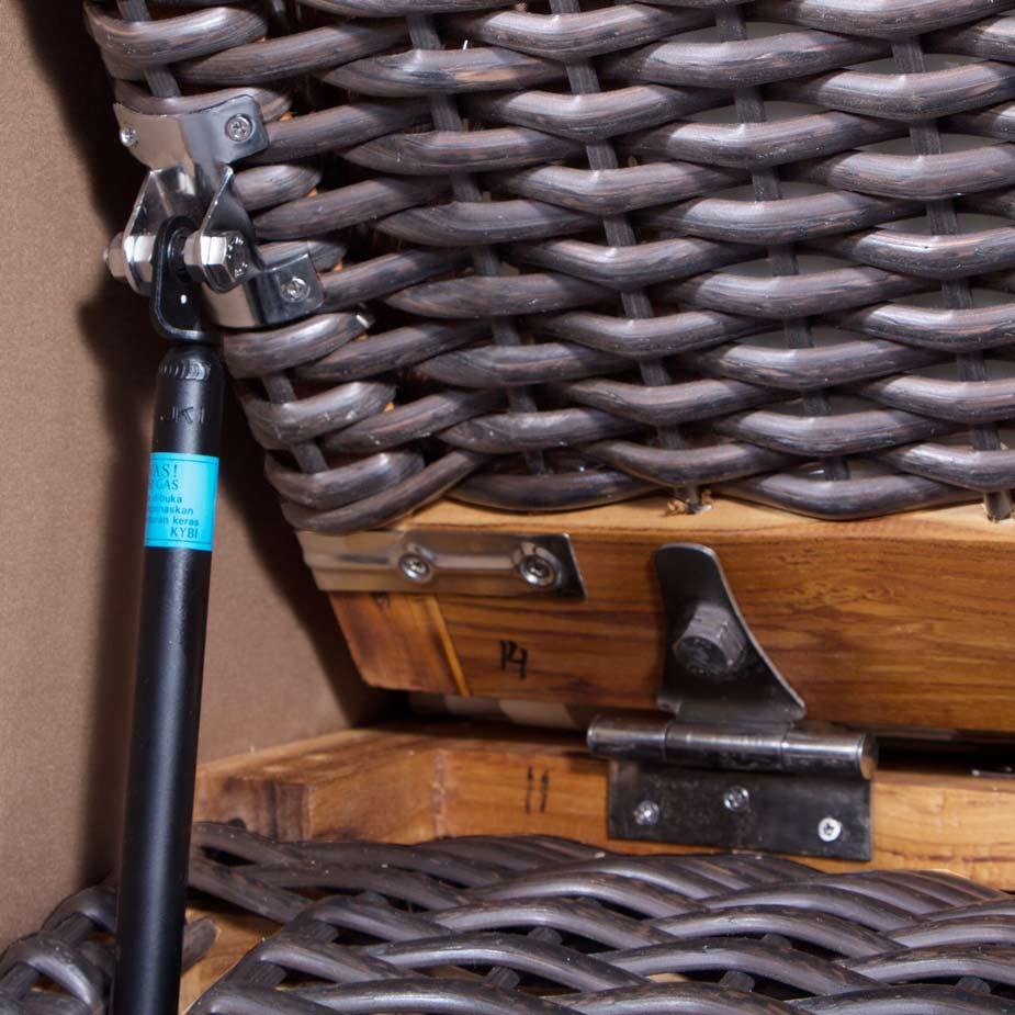 Hydraulikdämpfer (optional erhältlich)